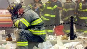 grieving fireman