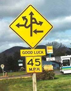 good-luck-road-sign